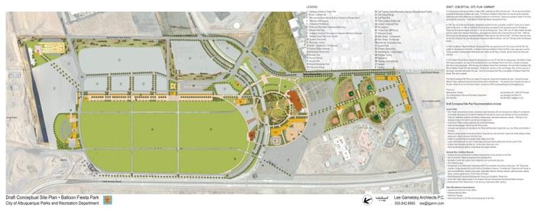 Balloon Fiesta Conceptual Site Plan 1