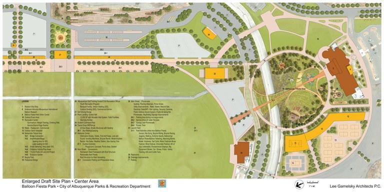 Balloon Fiesta Conceptual Site Plan 2