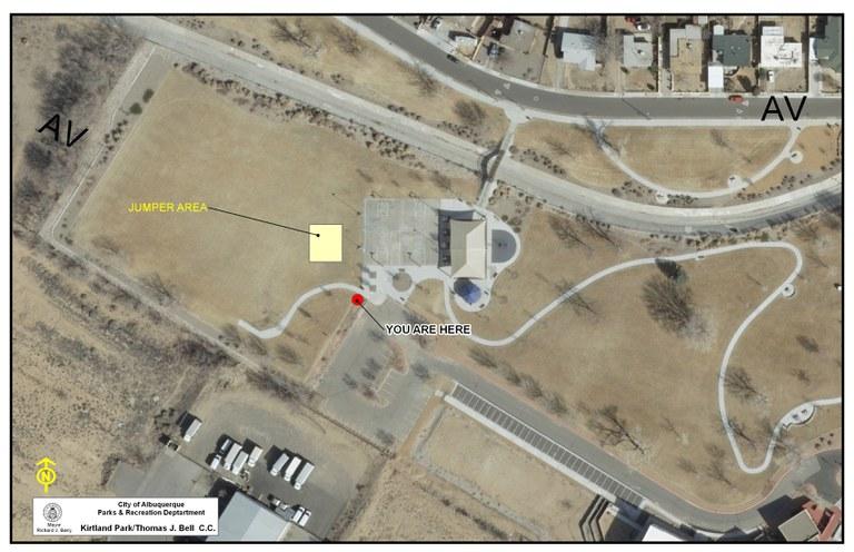 Kirtland Park Jumper Map