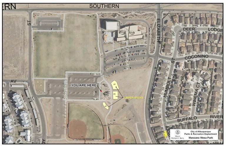 Manzano Mesa Park Jumper Map
