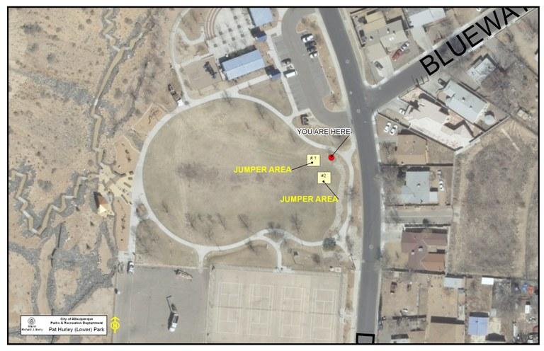 Pat Hurley Upper Park Jumper Map