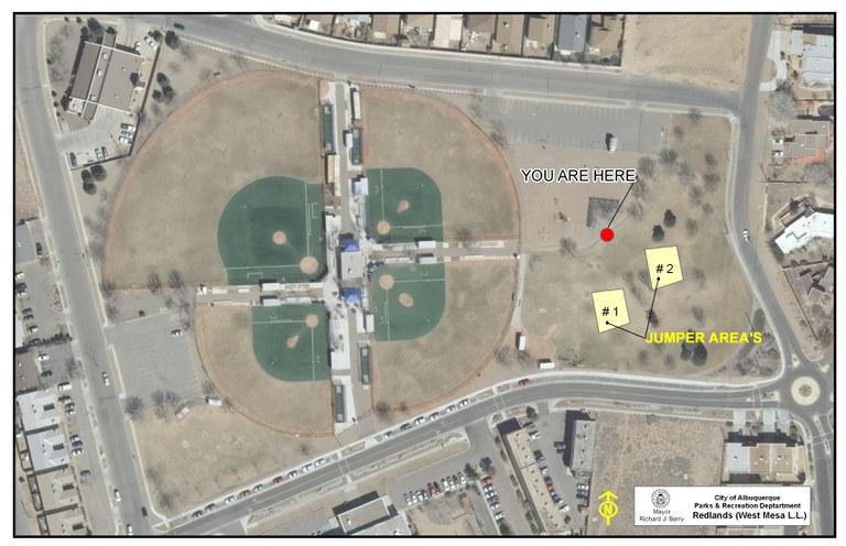 Redlands Park Jumper Map