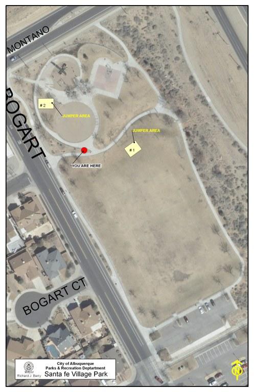Santa Fe Village Park Jumper Map