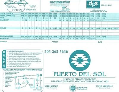Puerto del Sol Golf Course | 60S Today