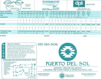 Puerto Scorecard