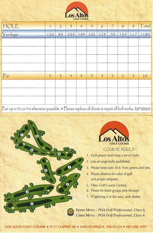 Los Altos Scorecard (9)