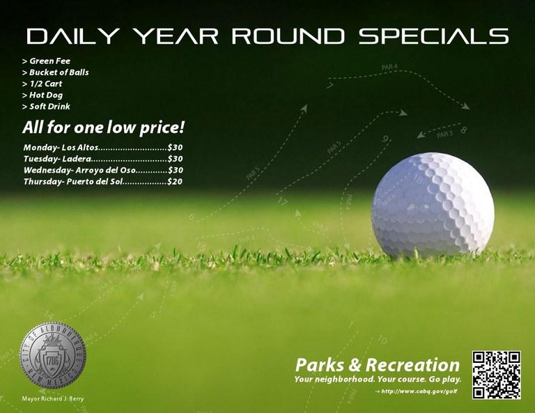 Year Round Specials