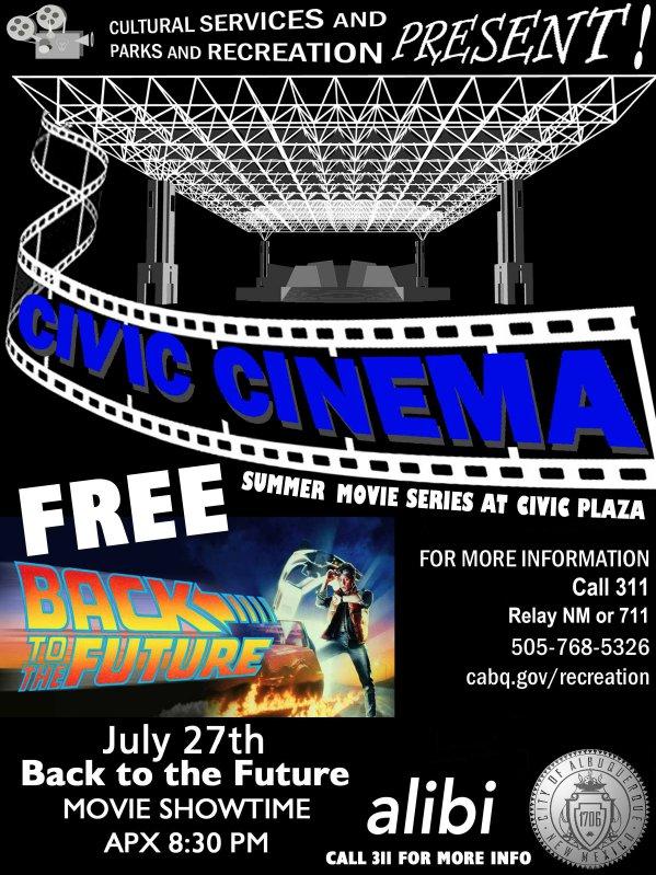 Civic Cinema - Back to the Future