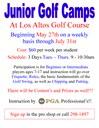 Los Altos Golf Camp May 2014
