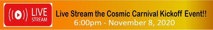 Cosmic Carnival Kickoff Live Stream