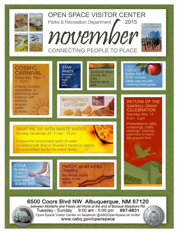 OSVC November 2015 Calendar