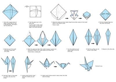 How to make a Origami Crane