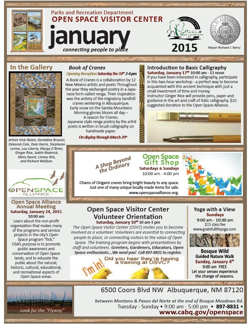 OSVC Calendar Jan 2015