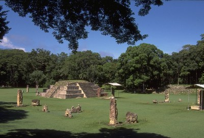 Plaza at Copan site