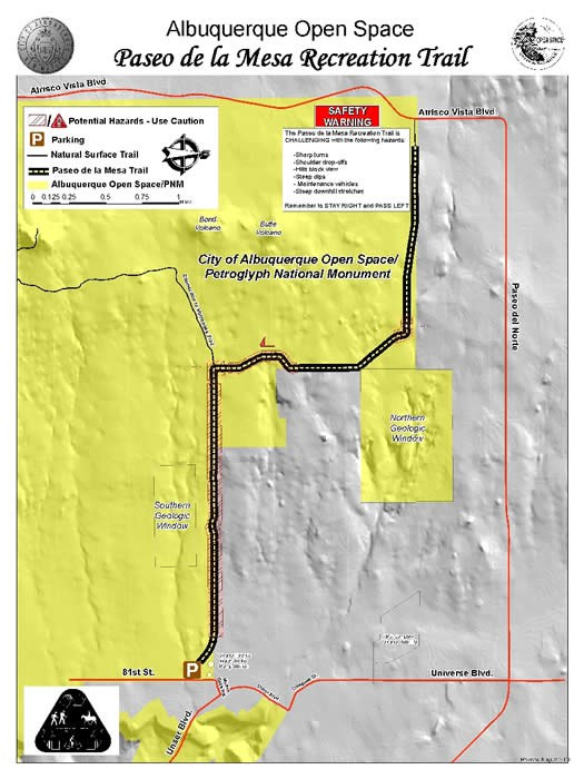 Paseo de la Mesa Recreation Trail