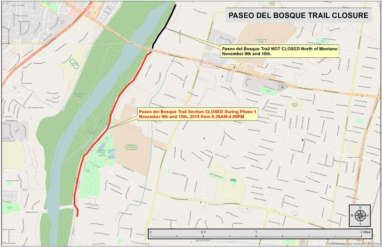 Trail closure map 1