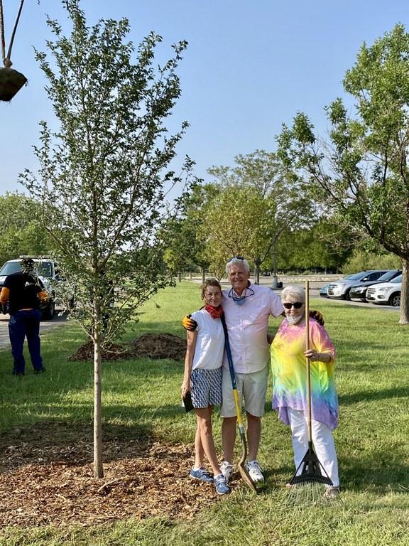Dakota Tree Project at Phil Chacon Park 4