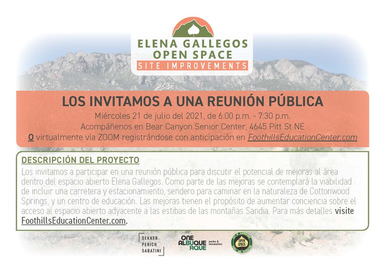 EG improvements public meeting 7.21.21 Spanish