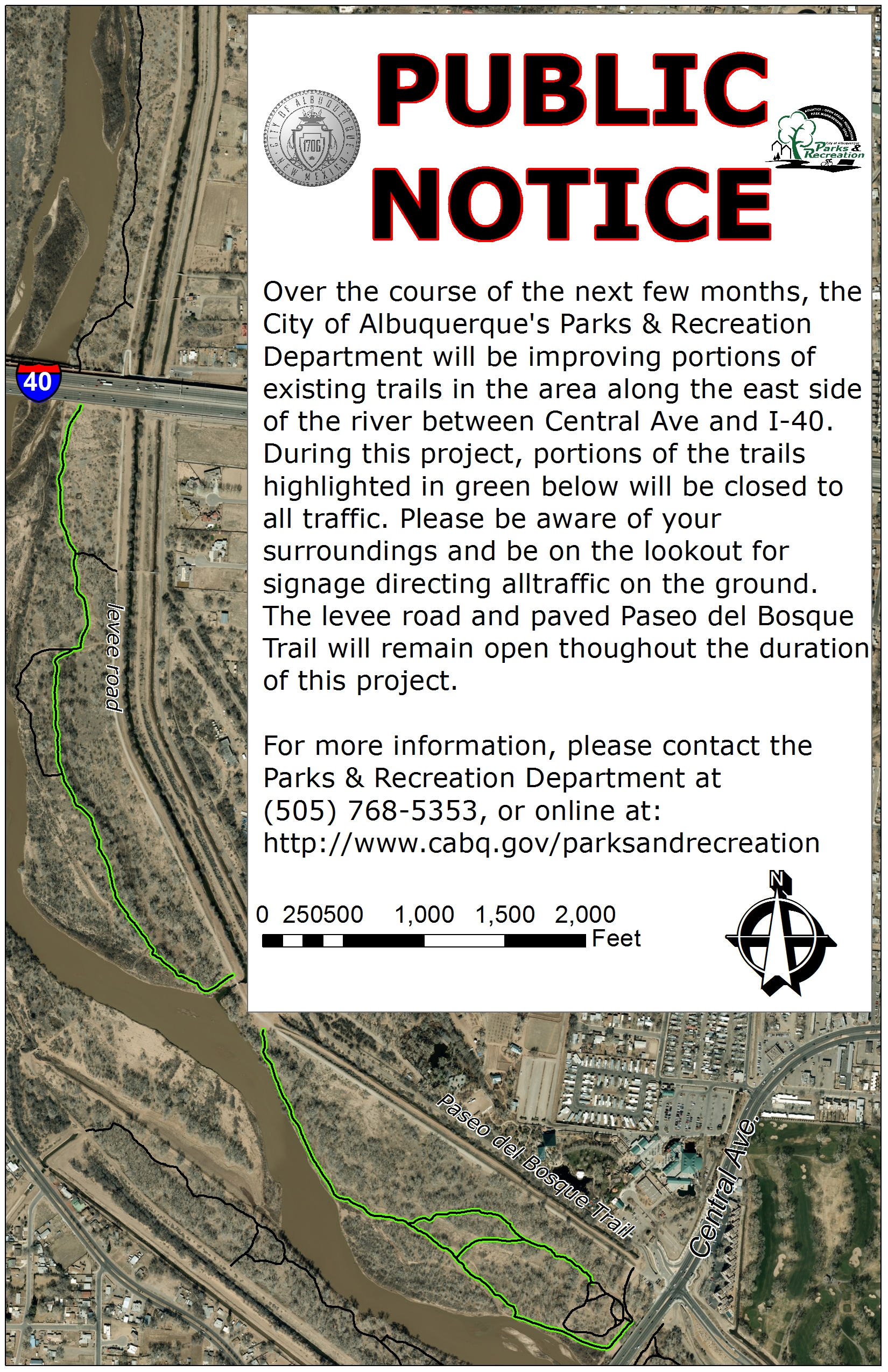 Central Northeast Trail Improvements