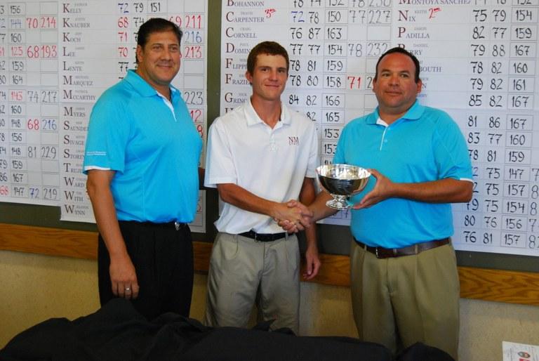 Golf Tourney - 69 Annual Winner Patrick Beyhan