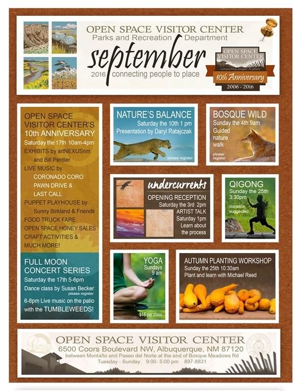 September OSVC calendar