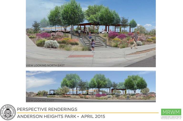 Anderson Heights design site renderings