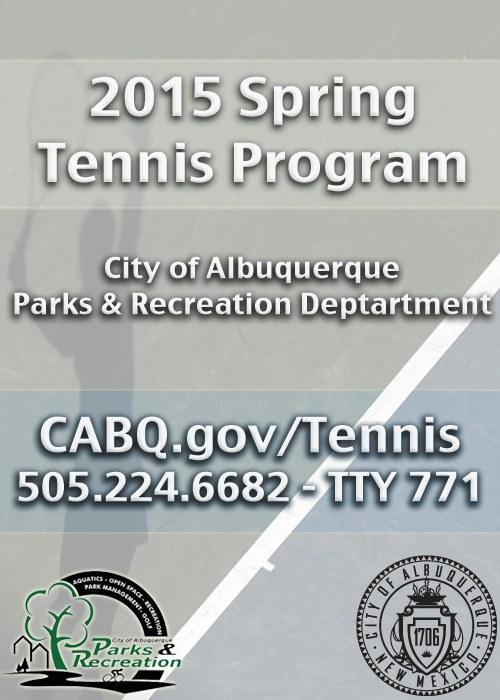 Tennis Fall Cover 2015