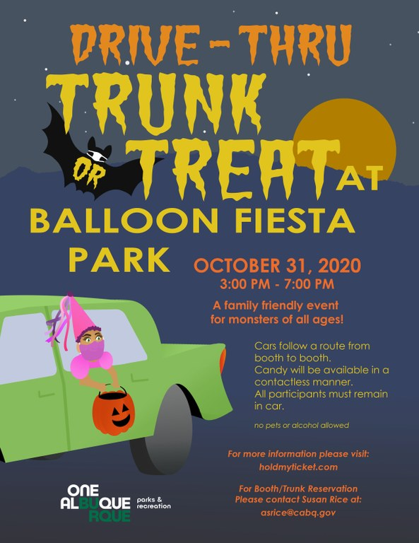 2020 Trunk or Treat Flyer