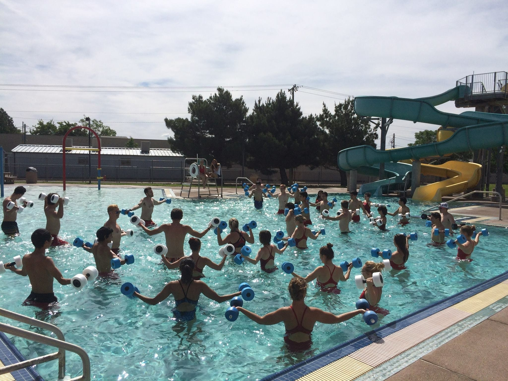 Water exercise is a great way to get fit and have fun