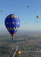Balloon Fall Fest Brings Hot Air Balloons to Albuquerque Skies