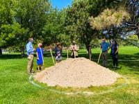 City Leaders Break Ground on Renovation of Lynnewood Park
