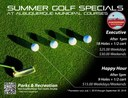 Parks and Recreation Announces Summer Closeout Promotions at City Golf Courses
