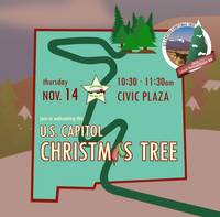 U.S. Capitol Christmas Tree to Make Stop at Albuquerque's Civic Plaza