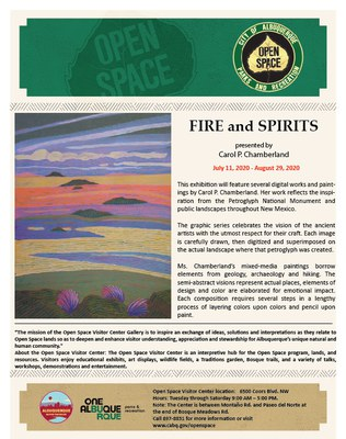 Exhibit: Fire and Spirits, by Carol P. Chamberland