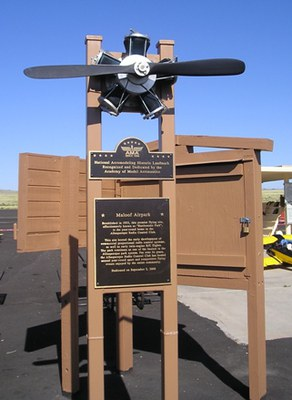 George J. Maloof Memorial Air Park will be closed for maintenance work