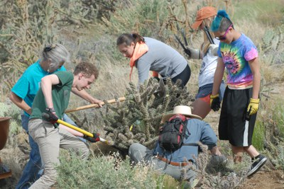 Open Space Spring Clean-up: Piedra Lisa