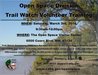 Trail Watch Volunteer Training