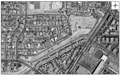 Academy Hills Park Satellite Image