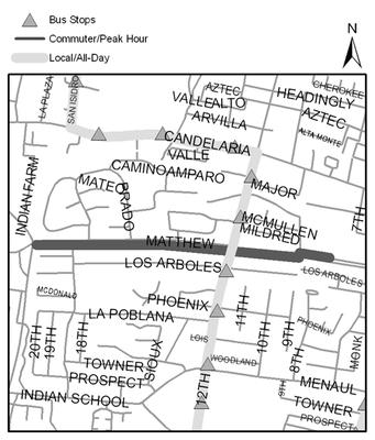 Map of Alameda Drain Trail