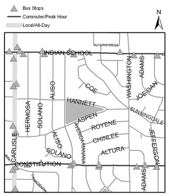 Map of Altura Park