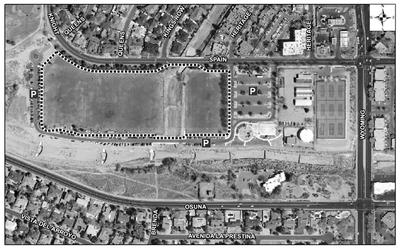Arroyo del Oso Park Satellite Image