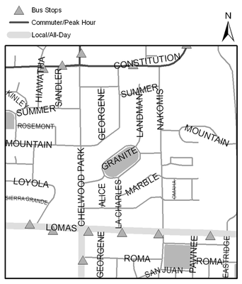 Map of Bianchetti Park