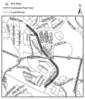 Map of Black Arroyo Trail