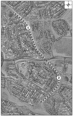 Black Arroyo Trail Satellite Image
