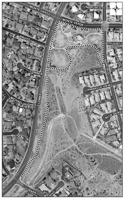 Embudo Hills Park Satellite Image