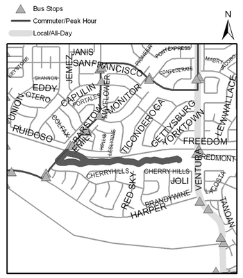 Map of Heritage Hills Park