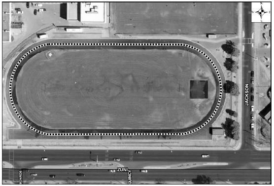 Highland High School Track Satellite Image