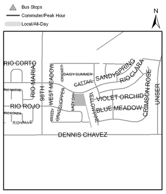 Map of Lazy Day Park