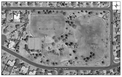 Loma del Norte Park Satellite Image