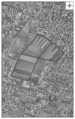 Los Poblanos Open Space Satellite Image